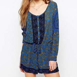 Free People Snap Out of it romper